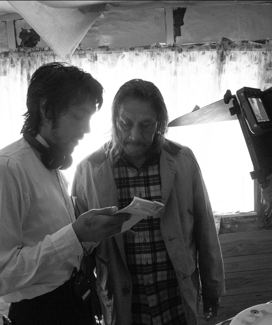 Trejo's son, Gilbert, directing him in his feature film debut 'From a Son' (2018)