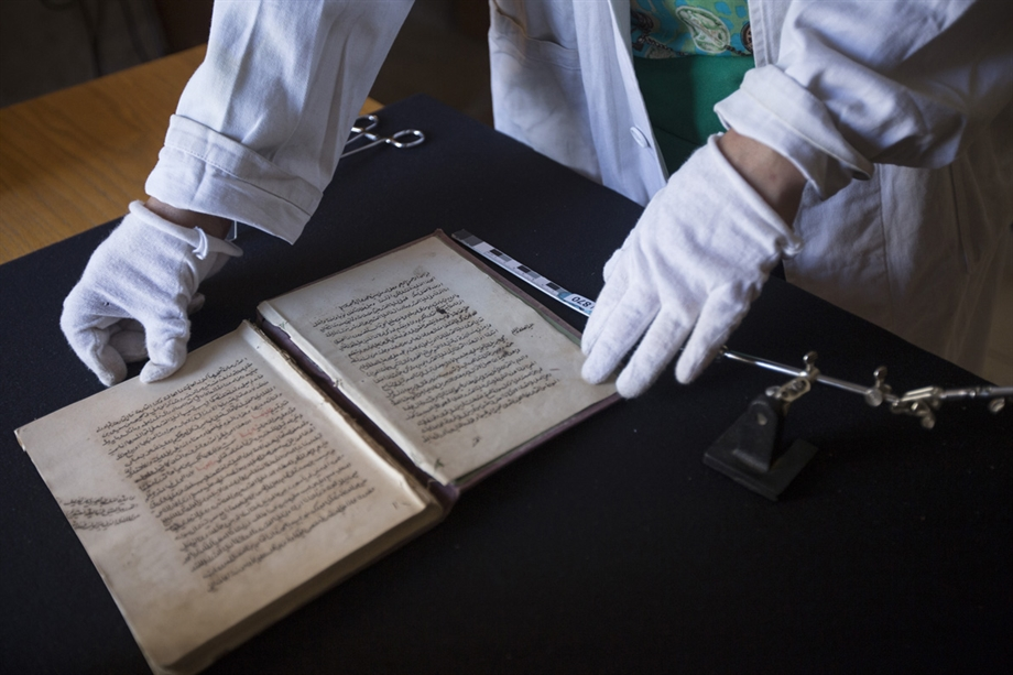 Image: Protection Of These Ancient Manuscripts Is An Incredibly Important Job | Matilde Gattoni